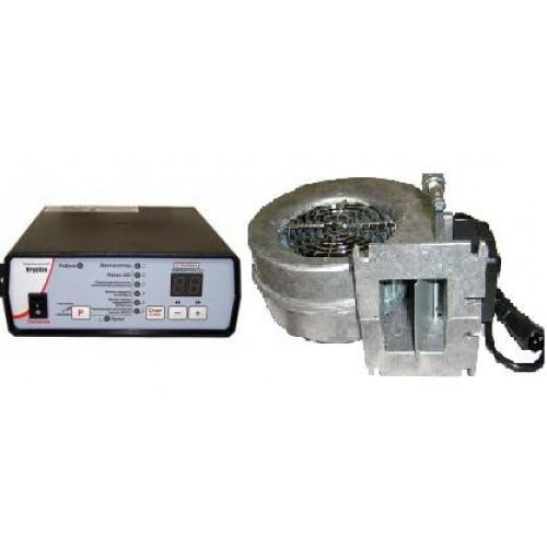 Комплект Krypton вентилятор и автоматика для твердотопливных котлов