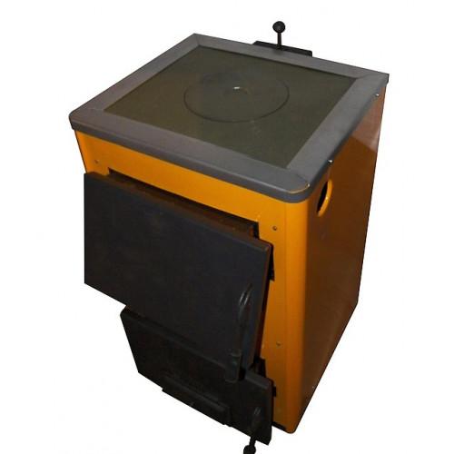 КОТВ-18П Твердотопливный котел с плитой 18 кВт