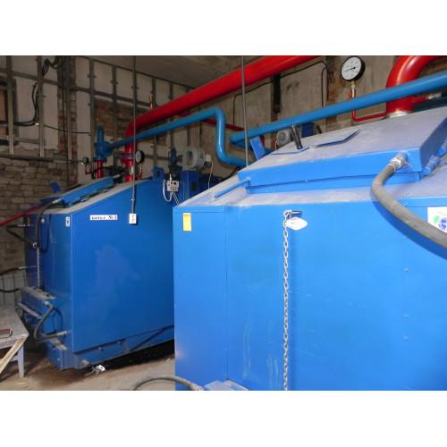 Твердотопливный котел Идмар KW-GSN-800 кВт
