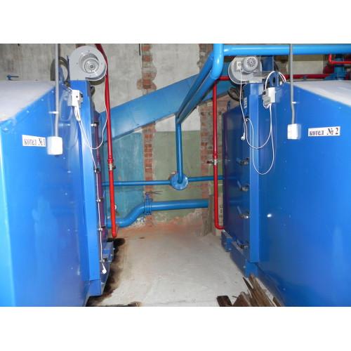 Твердотопливный котел Idmar KW-GSN-150 кВт Идмар КВ-ЖСН