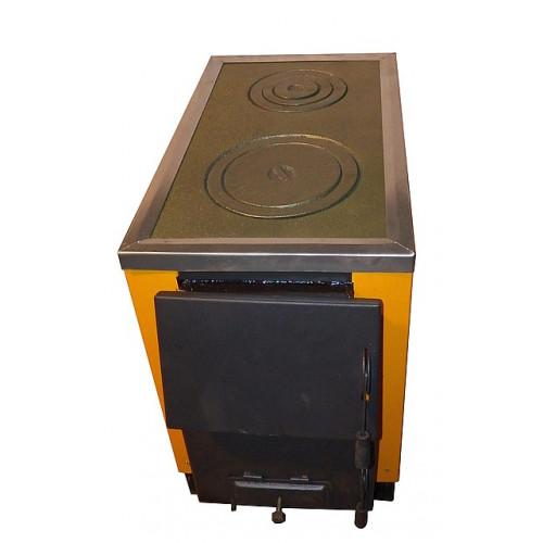 Котел-печь КОТВ-175 с варочной поверхностью на твердом топливе