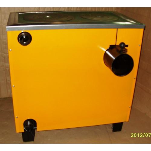 КОТВ-125 П Котел-плита твердотопливный с конфоркой