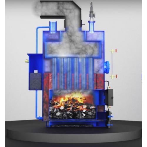 Твердотопливный парогенератор Топтермо 120 кВт200 кг пара