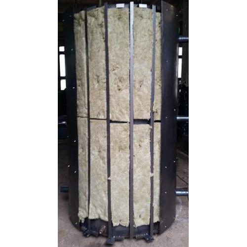 Бак аккумулятор Идмар 2500 литров для системы отопления с утеплением и стальным корпусом Буферные емкости
