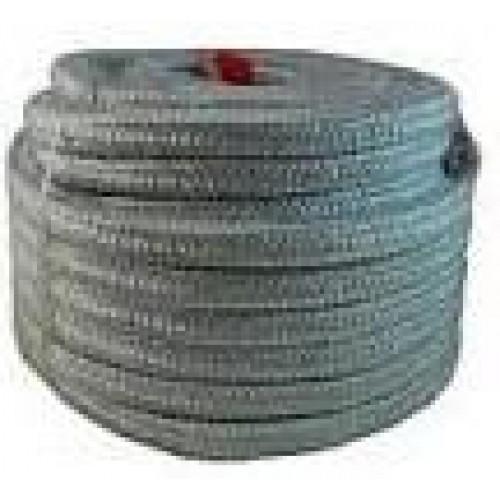 Термошнур d20мм 1260С плетенный керамический бухта 10 кг