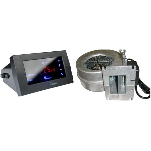 Блок управления KG ELEKTRONIK CS-19 вентилятор WPA-120 для твердотопливных котлов