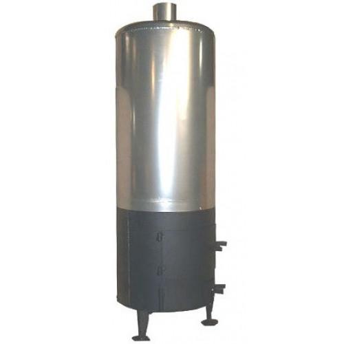 Бойлер-буржуйка 80 литров из нержавеющей стали 2мм