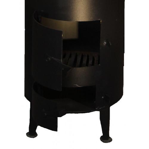 Бак для дровяного титана старого образца 90 литров из нержавеющей стали 2мм