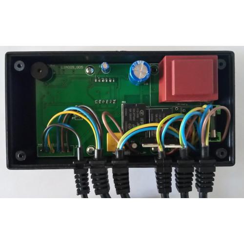 Inter Electronics IE-28n автоматика для твердотопливных котлов с автоматической подачей топлива шнеком