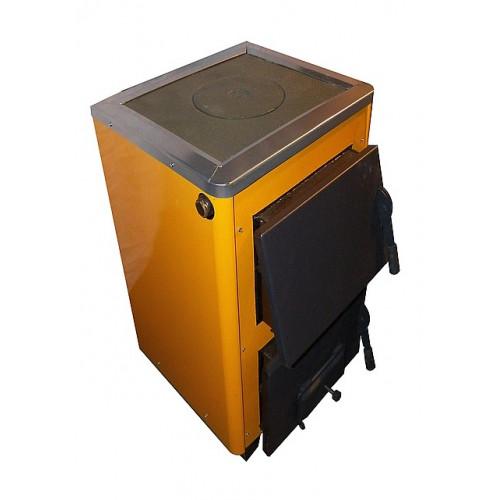 КОТВ-12П котел твердотопливный с плитой 12 кВт