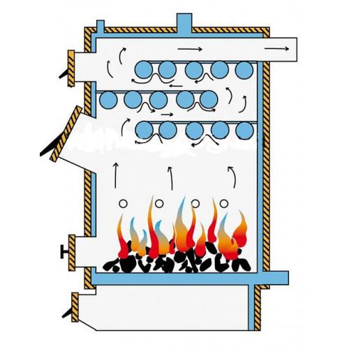 Твердотопливный котел Идмар GK-1-50 кВт