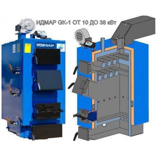 Твердотопливный котел Топтермо Идмар ЖК-1 25 кВт