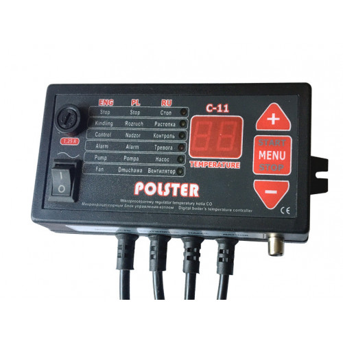 Polster C-11 автоматика для твердотопливного котла