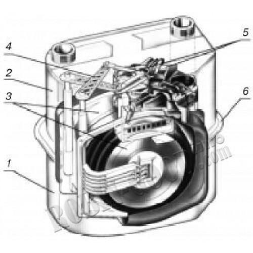 Cчетчик газовый мембранный Gallus G-16 G-25 G-4 Галлус Itron Actaris