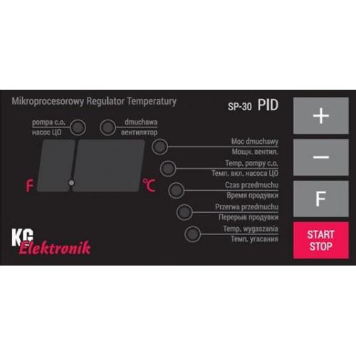 KG Elektronik SP-30 PID - блок управления автоматика для твердотопливного котла